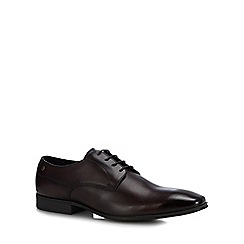 Base London - Dark Brown leather 'Tyne' Derby shoes