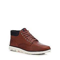 Timberland - Tan Leather 'Bradstreet' Chukka Boots