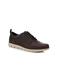 Timberland - Brown Leather 'Bradstreet' Lace Up Shoes