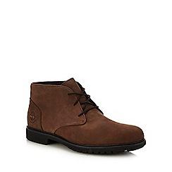Timberland - Brown Nubuck 'Stormsbuck' Chukka Boots
