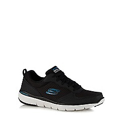 Skechers - Black 'Flex Advantage 3.0' trainers