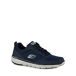 Skechers - Navy 'Flex Advantage 3.0' trainers