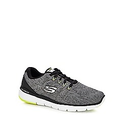 Skechers - Grey 'flex advantage 3.0' trainers