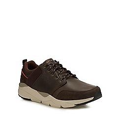 Skechers - Chocolate brown 'Recent Meroso' trainers