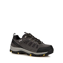 Skechers - Grey 'Relment Songo' lace up shoes