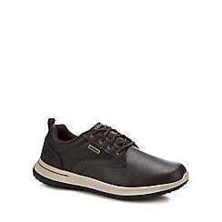 Skechers - Chocolate brown 'delson antigo' trainers