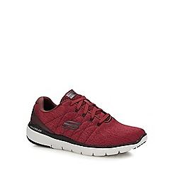 Skechers - Dark red 'Flex Advantage 3.0' trainers