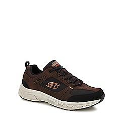 Skechers - Brown 'oak canyon' trainers