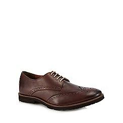 Lotus Since 1759 - Dark brown leather 'Rivington' brogues