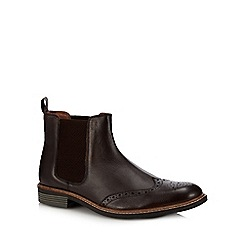 Lotus Since 1759 - Brown leather 'Basildon' Chelsea boots