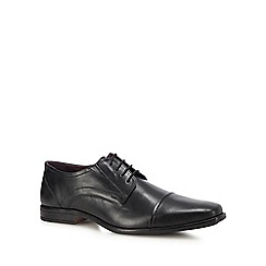 Lotus Since 1759 - Black leather 'Swinford' Derby shoes