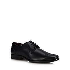 Lotus Since 1759 - Black Leather 'Birkdale' Derby shoes