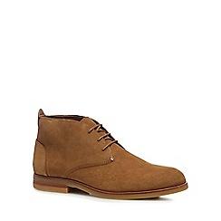 H By Hudson - Tan Suede 'Bedlington' Desert Boots