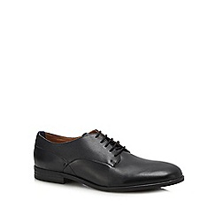 H By Hudson - Black leather 'Axminster' shoes