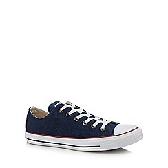 Converse - Navy canvas 'Chuck Taylor All Star' trainers