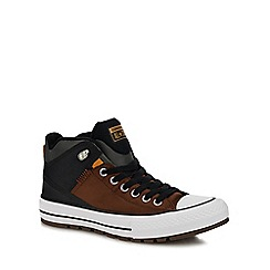 Converse - Brown 'Chuck Taylor All Star' high tops trainers
