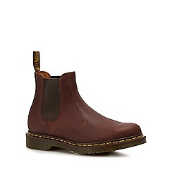 Dr Martens - Tan leather '2976' Chelsea boots