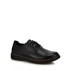 Dr Martens - Black leather 'Elsfield' Derby shoes