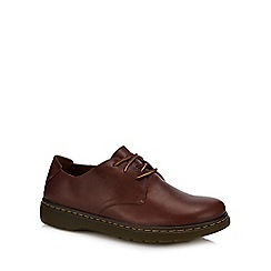 Dr Martens - Tan leather 'Elsfield' Derby shoes