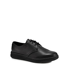 Dr Martens - Black leather 'Cavendish' Derby shoes