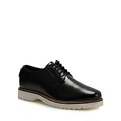 Ben Sherman - Black leather 'Marcus' Derby shoes