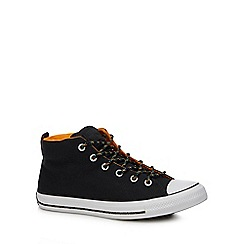 Converse - Black canvas 'Chuck Taylor All Star' high tops trainers