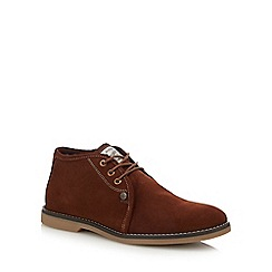 Original Penguin - Tan suede 'Legal 3' chukka boots