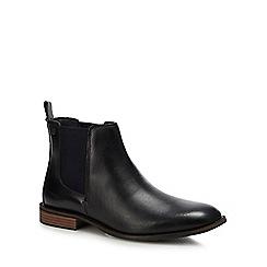 Original Penguin - Black leather 'Tobias' Chelsea boots