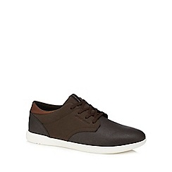 Jack & Jones - Brown 'Jamie' trainers