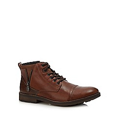 Rieker - Brown leather boots