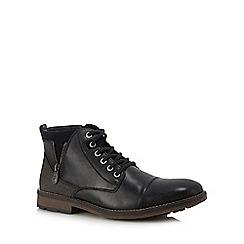 Rieker - Black toe cap boots