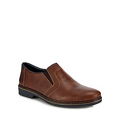 Rieker - Brown slip-on shoes