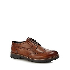 Base London - Tan leather 'Grouse' brogues