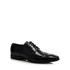 Base London - Black leather 'Clyde' brogues