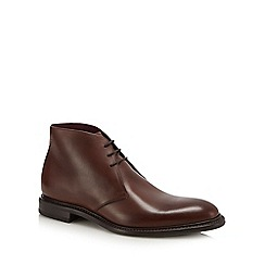 Loake - Brown leather 'Spirit' chukka boots