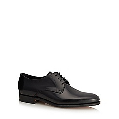Loake - Black leather 'Vaughn' Derby shoes