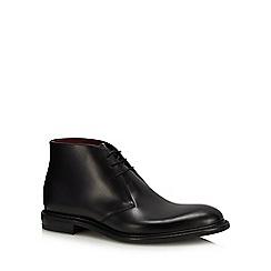 Loake - Black leather 'Spirit' chukka boots
