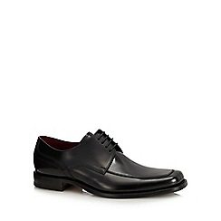 Loake - Black leather 'Artemis' Derby shoes