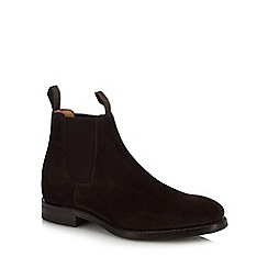 Loake - Dark brown 'Chatsworth' chelsea boots