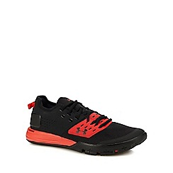 Under Armour - Red 'UA Charged Ultimate 3.0' training shoes