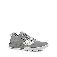 Under Armour - Grey 'UA Charged Ultimate 3.0' training shoes