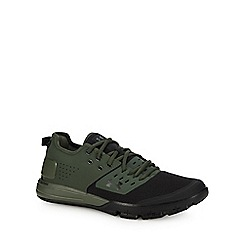 Under Armour - Green 'UA Charged Ultimate 3.0' trainers