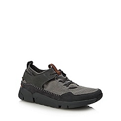 Clarks - Black 'Tri Active Up' trainers