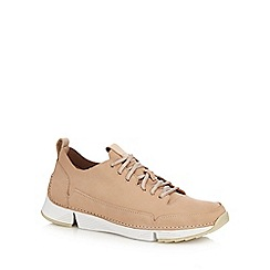12307f5fd164 Clarks - Natural nubuck  Tri Spark  trainers