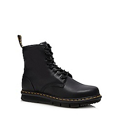 Dr Martens - Black leather 'Lexington' boots