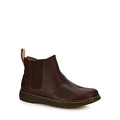 Dr Martens - Tan leather 'Lyme' Chelsea boots
