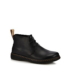 Dr Martens - Black leather 'Ember' chukka boots