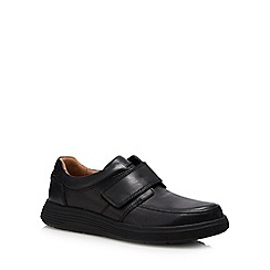 Dr Martens - Black leather 'Un Abode' shoes