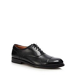 Clarks - Black leather 'Coling Boss' Oxford shoes