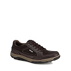 Rockport - Brown suede 'Oxford' trainers